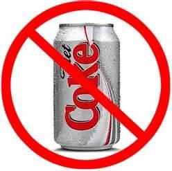 """""""Stop diet soda"""""""