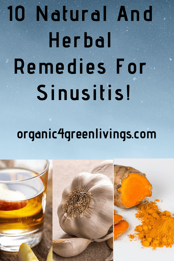 Natural and Herbal remedies for sinusitis