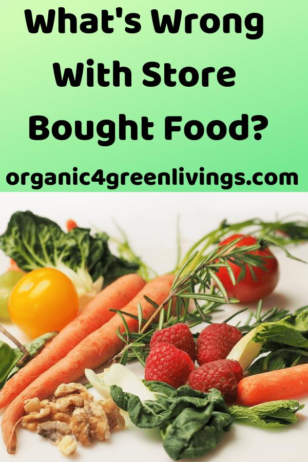 Organic gardening - healthy food