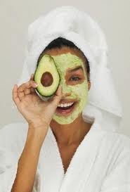 Avocado and honey masque