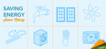 Tips for saving energy and water
