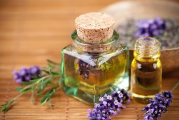 Natural skin with Lavender oil