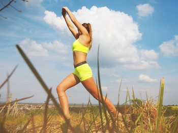 Healthy exercise to quit smoking