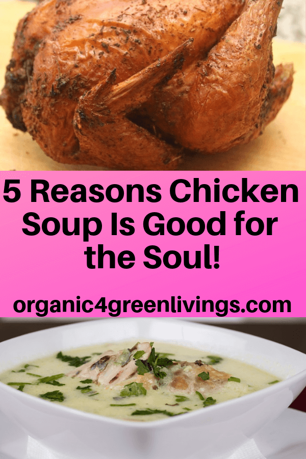 Chicken soup health benefits
