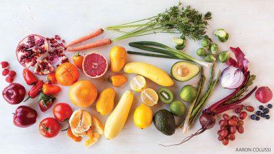 Mood food - Happy-fruits-veggies