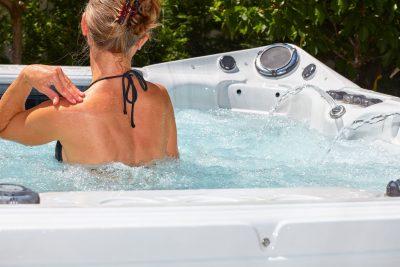 Health benefit of hot tub