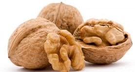 Healthy nuts and walnuts