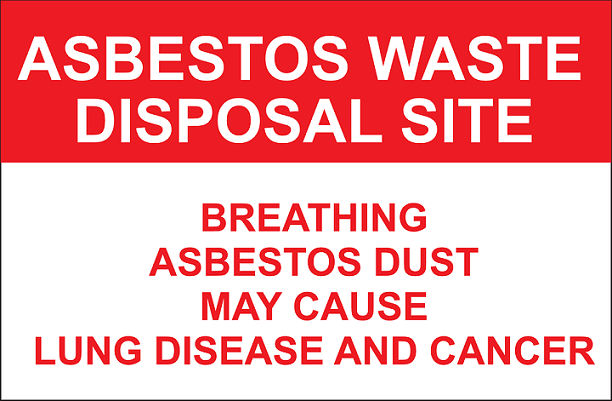 avoid asbestos for good air quality