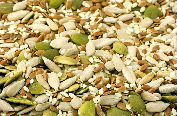 Nuts and Seeds Iron Rich Foods
