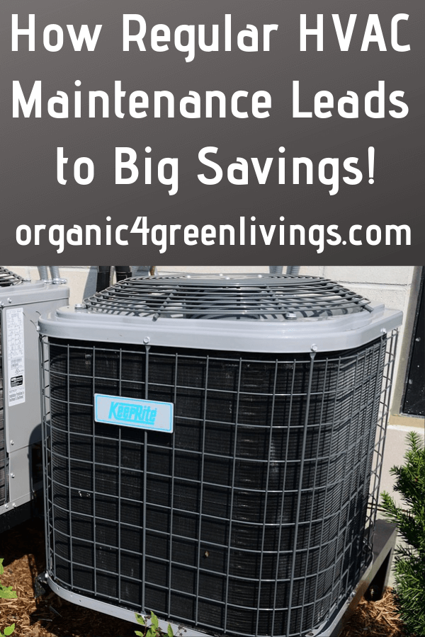 HVAC maintenance leads to saving
