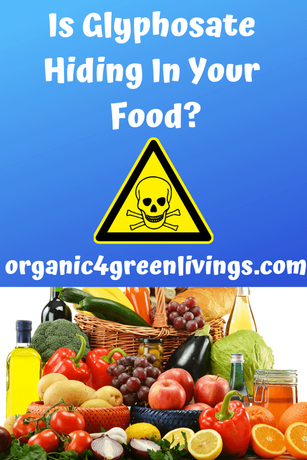 Is Glyphosate Hiding in your food