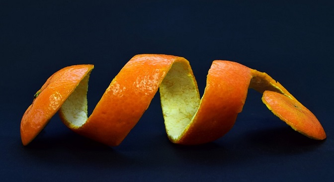 Citrus Peels - Home remedy for whitening teeth