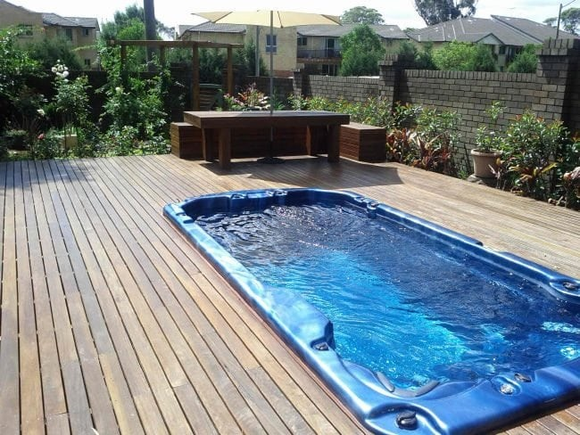 Health benefits of swim spa