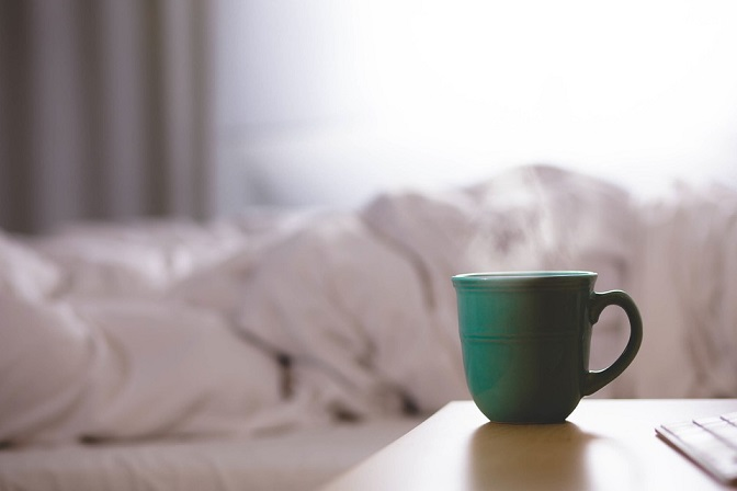 Avoid caffeine for a good night sleep