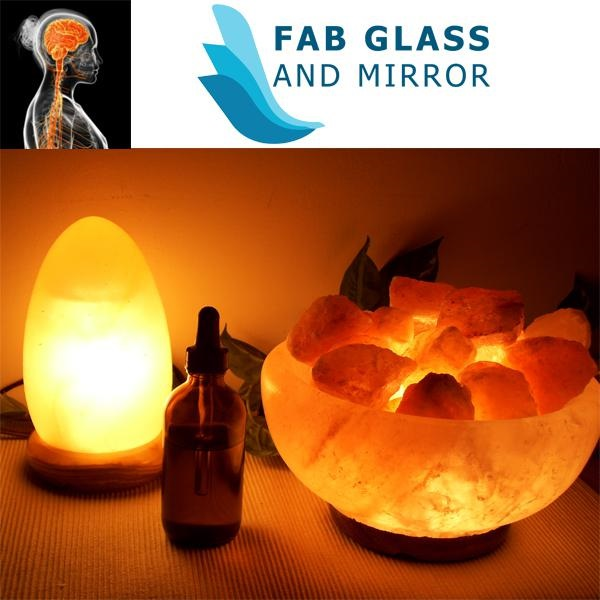 Himalayan salt lamps and deocarting