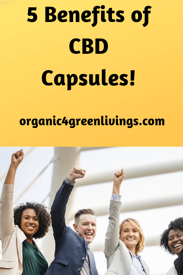 Benefits of CBD capsules