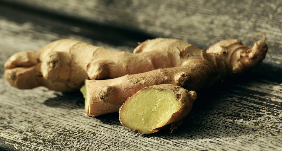 consume ginger for upset stomach