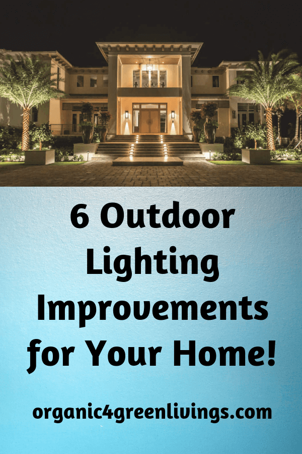 home improvements with outdoor lights