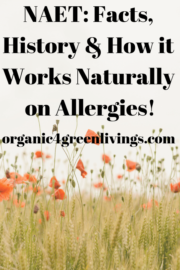 NAET natural allergy treatment