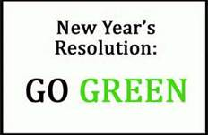 Go Green For New Year's