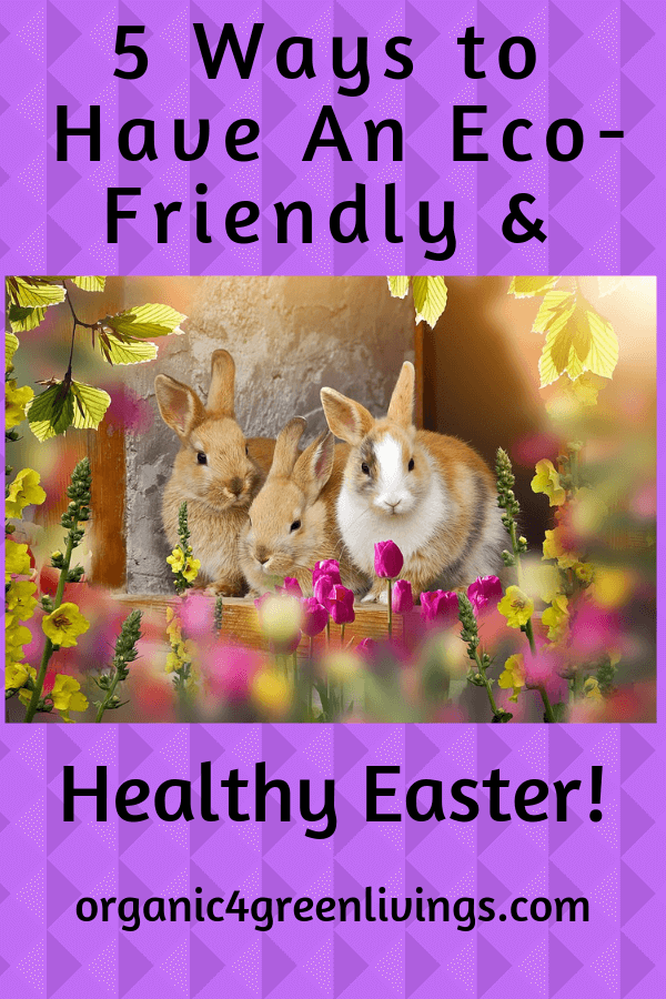 Eco-Friendly and healthy Easter