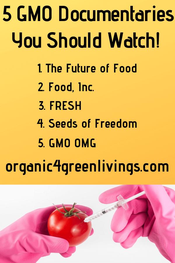 5 GMO Documentaries