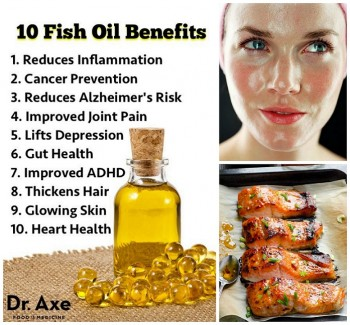Fish oil benefits for healthy skin