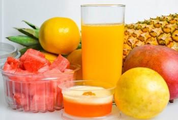 Juiving for natural allergy defense fruits