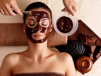 Chcolate face mask