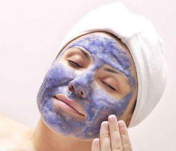 DIY Face Masks -Blueberry