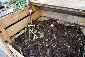 Mulching for a green yard on a budget
