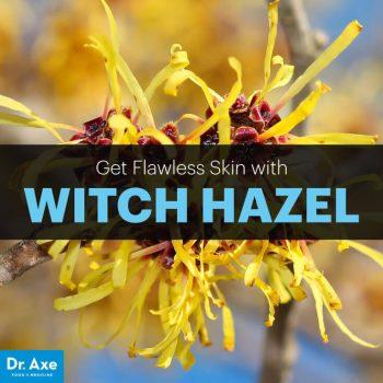Natural skin care witch hazel