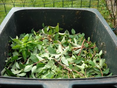 How compost green-waste