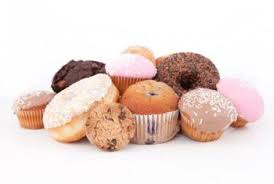Unhealthy food - sweet and starchy foods