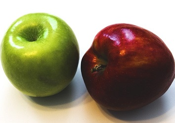 Fresh Fruits Apples Healthy Red Red Apple Green