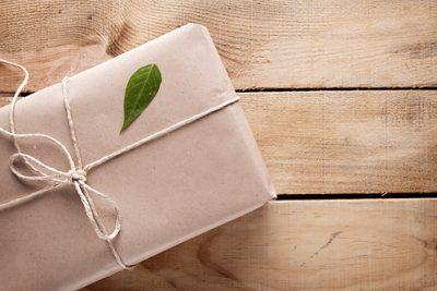 eco friendly gifts leaf