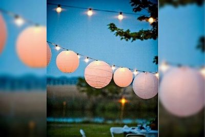 Lighting eco-friendly party