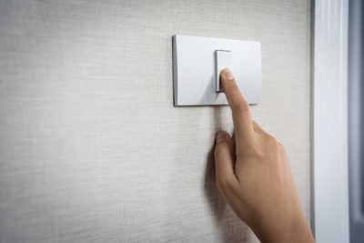 saving energy turn down the lights