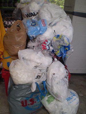 garbage and trash