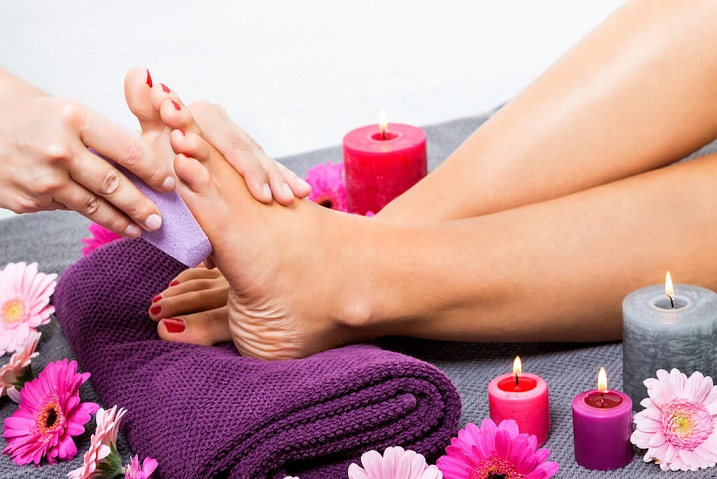 Health Benefits of Foot Pedicure
