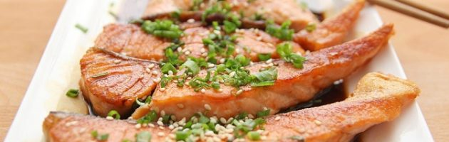 salmon for healthy protein