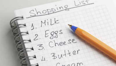 Food List for healthy eating