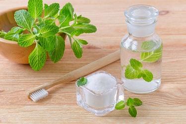 natural bleaching agent baking soda or salt