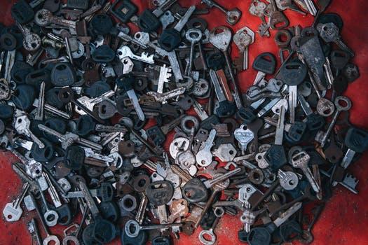 recycling keys