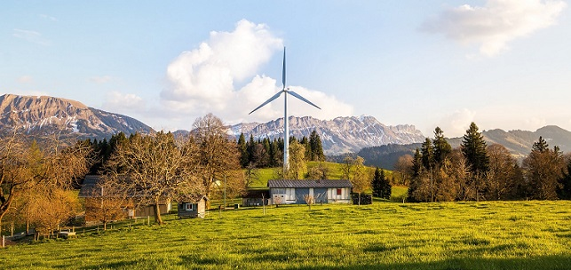 wind power is a way to have an energy efficient home