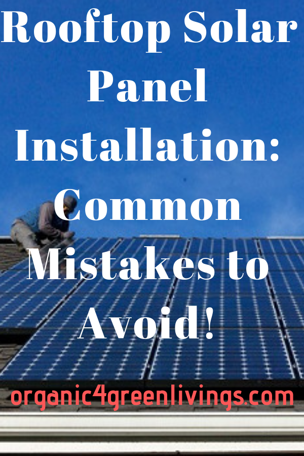 Solar Panels Mistakes to Avoid