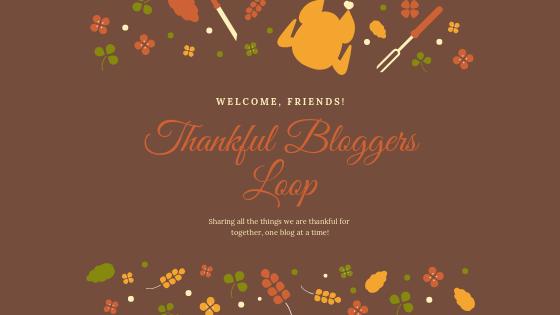 Why I am Thankful