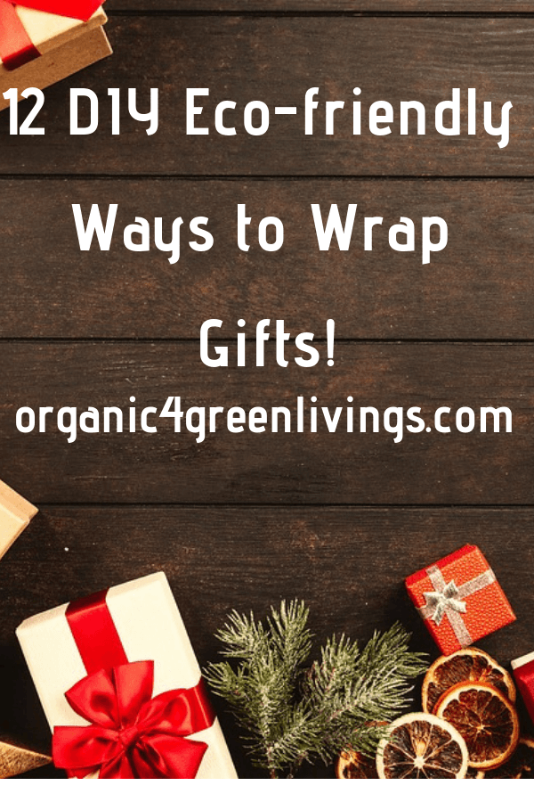 DIY Eco-friendly gift wrapping