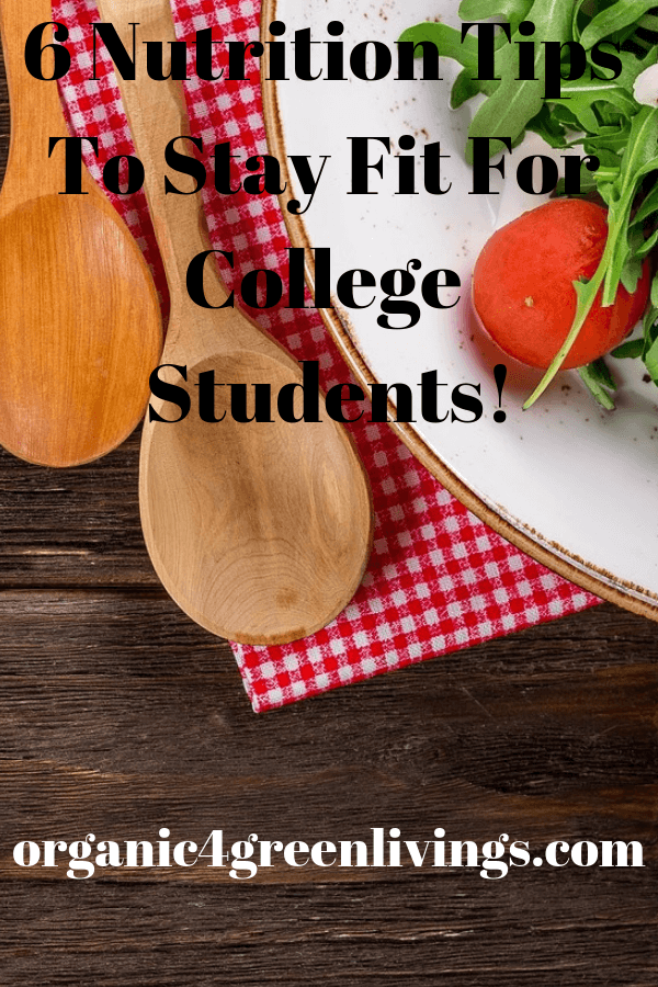 Nutrition tips for college students