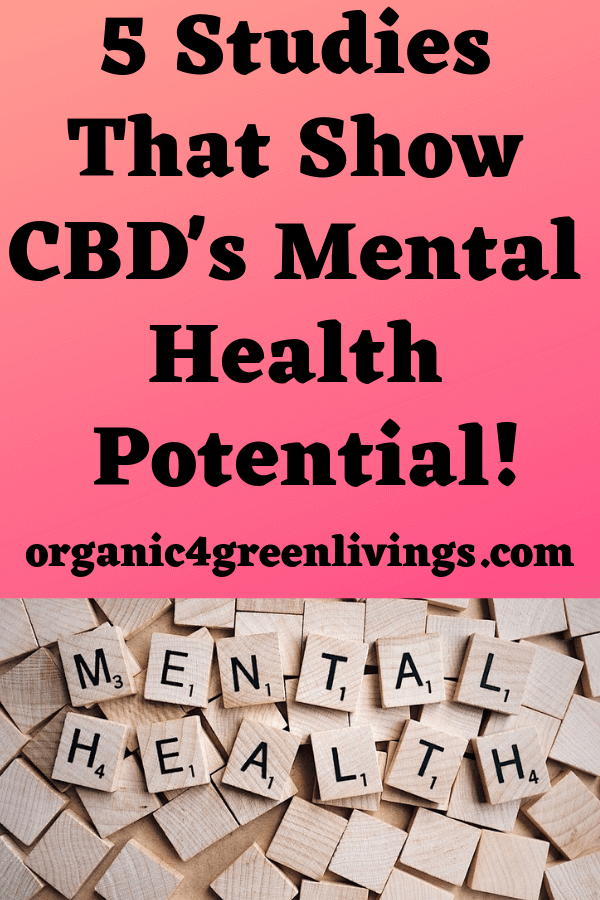 Studies about CBD and mental health